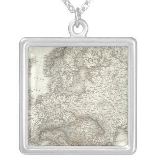 Europa del orógrafo - mapa físico de Europa Joyerias Personalizadas