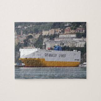 Europa del transportador del coche grande puzzle con fotos