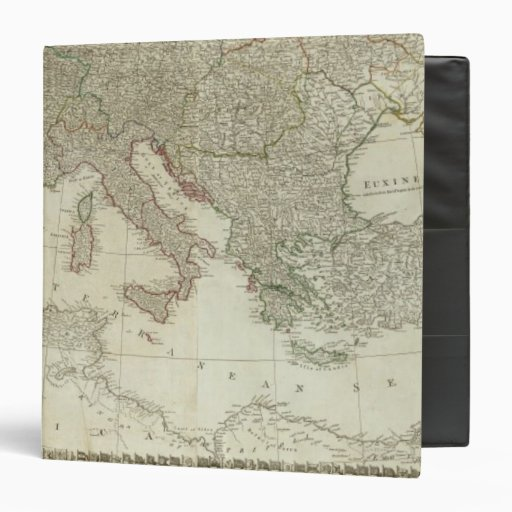 "Europa dividió en sus reinos, imperios carpeta 1 1/2"""