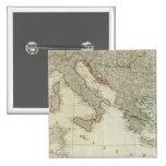 Europa dividió en sus reinos, imperios pin cuadrado