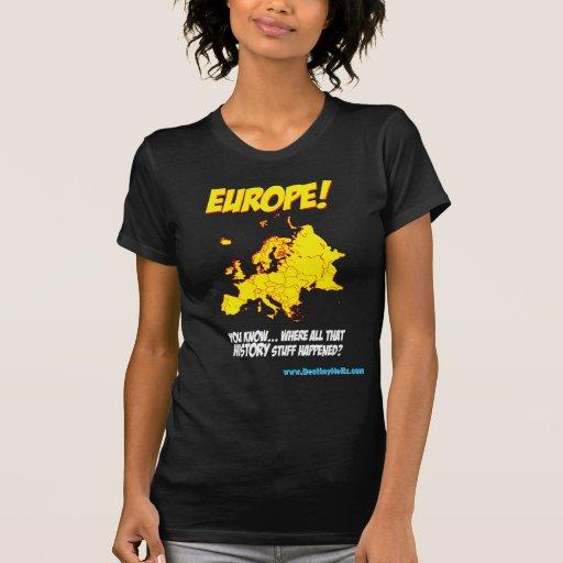 ¡Europa! (Donde sucedió toda esa materia de la Camiseta