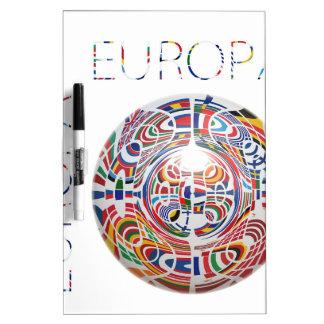 Europa ! Dry-Erase whiteboard