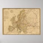 Europa en 1789 posters