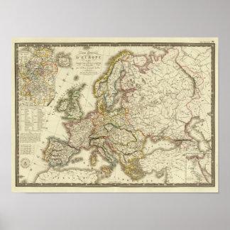 Europa en 1813 impresiones