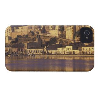 Europa, España, Balearics, Menorca, Mao. Amanecer Case-Mate iPhone 4 Cárcasa