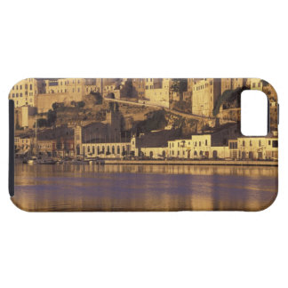 Europa, España, Balearics, Menorca, Mao. Amanecer iPhone 5 Case-Mate Coberturas