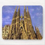 Europa, España, Barcelona, Sagrada Familia Tapete De Ratón