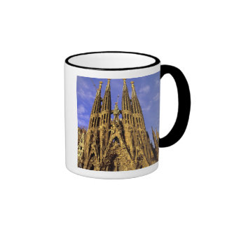 Europa, España, Barcelona, Sagrada Familia Tazas De Café