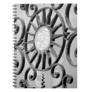 Europa, España, Mallorca. Detalle de la puerta, Pa Libro De Apuntes Con Espiral