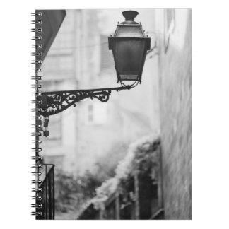 Europa, España, Mallorca. Lámparas de calle, Palma Libretas Espirales