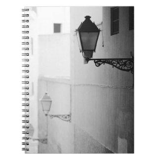 Europa, España, Mallorca. Streelights, Palma Libretas