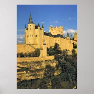 Europa, España, Segovia. El Alcazar imponente, Posters