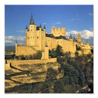 Europa, España, Segovia. El Alcazar imponente, Fotografias