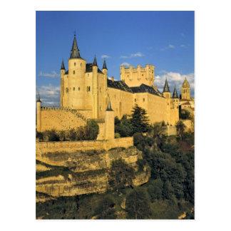 Europa, España, Segovia. El Alcazar imponente, Tarjetas Postales