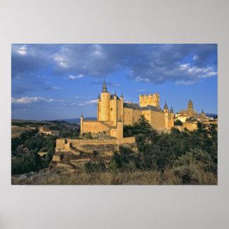 Europa, España, Segovia. El Alcazar, un mundo Poster