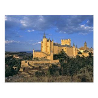 Europa, España, Segovia. El Alcazar, un mundo Postal