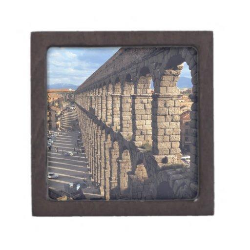 Europa, España, Segovia. La última luz echa sombra Caja De Regalo De Calidad