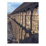 Europa, España, Segovia. La última luz echa sombra Tarjeta Postal