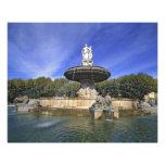 Europa, Francia, Aix-en-Provence. Fontaine de Impresiones Fotograficas