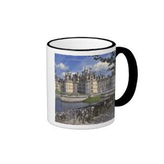 Europa, Francia, Chambord. Castillo francés Taza De Dos Colores