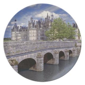 Europa, Francia, Chambord. Ventajas de piedra de u Plato De Cena