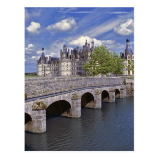Europa, Francia, Chambord. Ventajas de piedra de u Tarjetas Postales