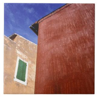 Europa, Francia, el Rosellón. Las paredes colorida Azulejo Cuadrado Grande