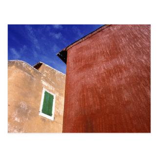 Europa, Francia, el Rosellón. Las paredes Postal
