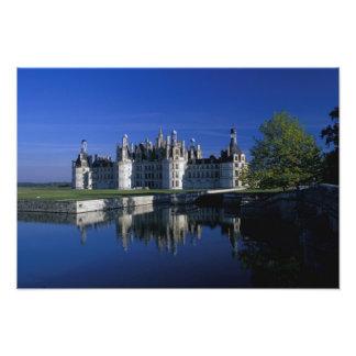 Europa, Francia, el valle del Loira. Castillo fran Fotografía