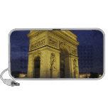 Europa, Francia, París. Arco del Triunfo Mini Altavoz