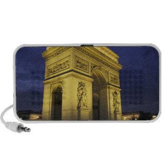 Europa, Francia, París. Arco del Triunfo Portátil Altavoces