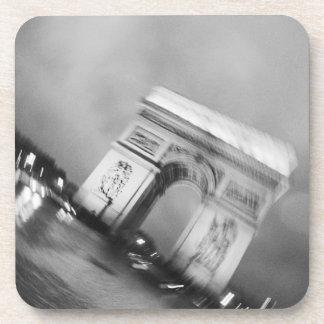 Europa, Francia, París. Arco del Triunfo de giro Posavasos De Bebidas