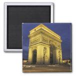 Europa, Francia, París. Arco del Triunfo Imán De Nevera