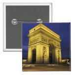 Europa, Francia, París. Arco del Triunfo Pins