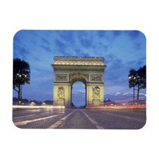 Europa, Francia, París. Arco del Triunfo según lo  Imanes Flexibles