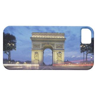Europa, Francia, París. Arco del Triunfo según lo iPhone 5 Carcasa