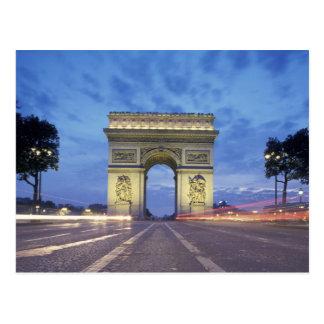 Europa, Francia, París. Arco del Triunfo según lo Postales