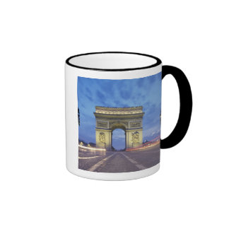 Europa Francia París Arco del Triunfo según lo Taza De Café