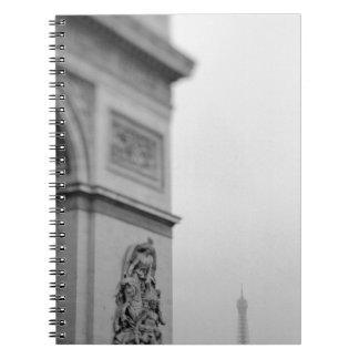 Europa, Francia, París. Arco del Triunfo y 2 Libretas