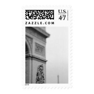 Europa, Francia, París. Arco del Triunfo y 2 Sellos