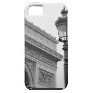 Europa, Francia, París. Arco del Triunfo y iPhone 5 Carcasa