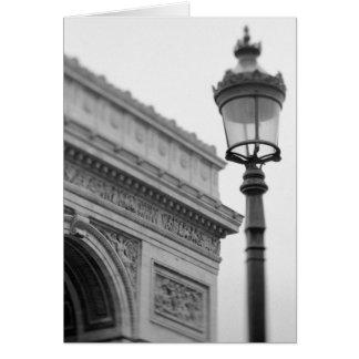 Europa, Francia, París. Arco del Triunfo y Tarjetas