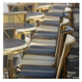 Europa, Francia, París, Beaubourg: Del café tablas Azulejo Cuadrado Grande