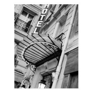 Europa, Francia, París. Detalle del hotel de la Postales