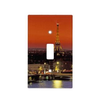 Europa, Francia, París. Opinión de la puesta del s Cubierta Para Interruptor