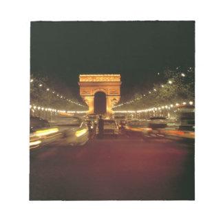 Europa, Francia, París. Precipitaciones del tráfic Bloc