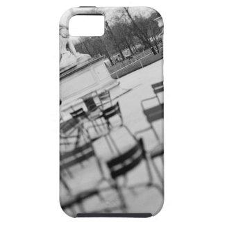 Europa, Francia, París. Sillas, Jardin du iPhone 5 Carcasa