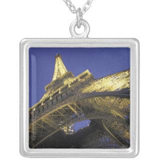 Europa, Francia, París, torre Eiffel, igualando 2 Colgante Cuadrado