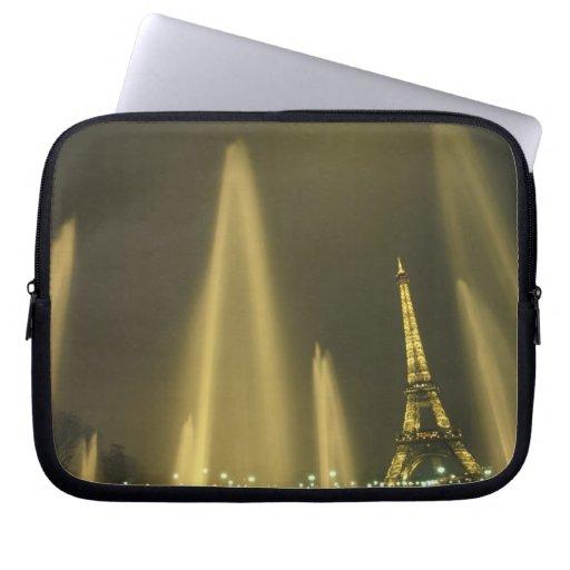 Europa, Francia, París, torre Eiffel, igualando Fundas Ordendadores