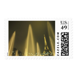 Europa, Francia, París, torre Eiffel, igualando Timbre Postal